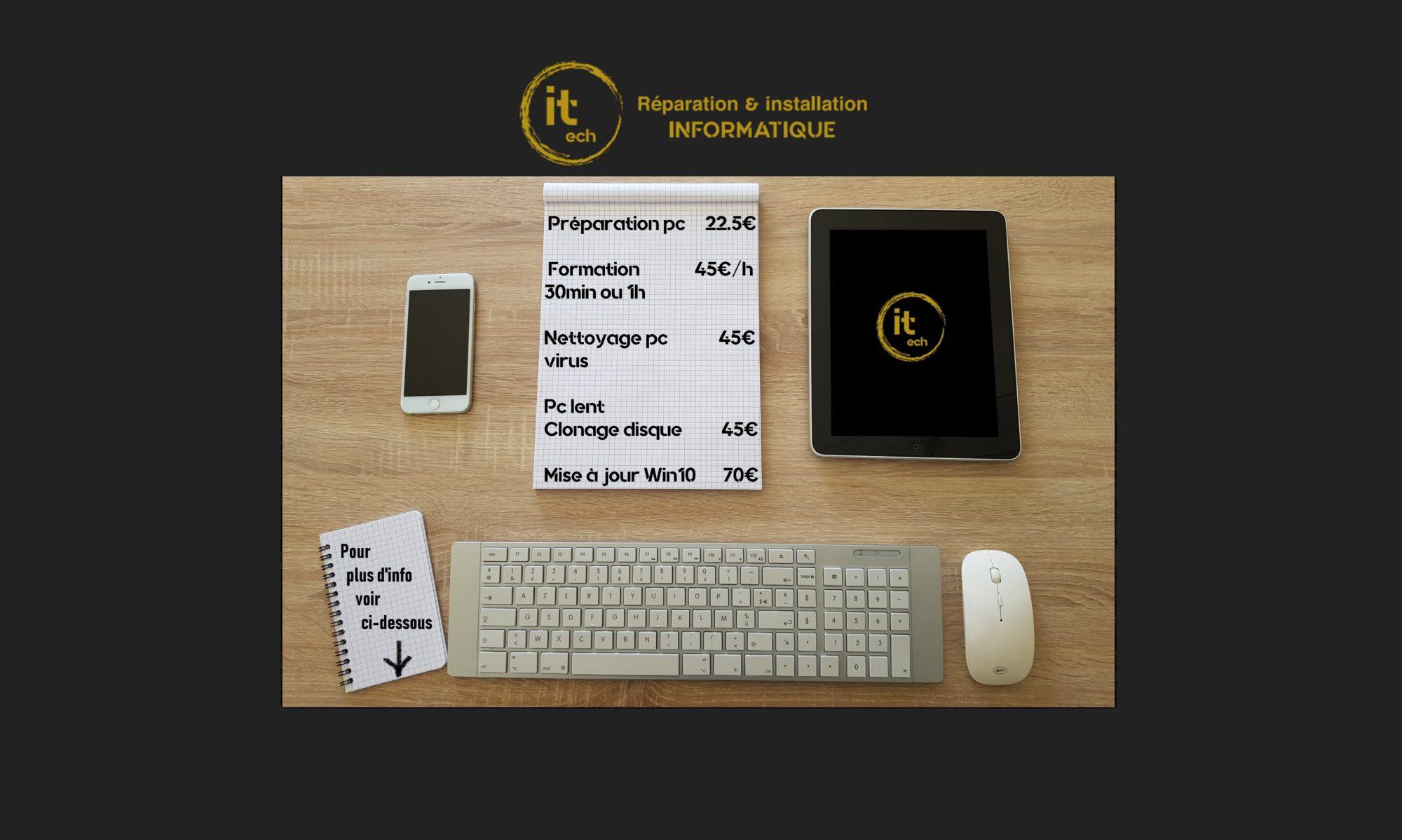 Réparation et Installation Informatique